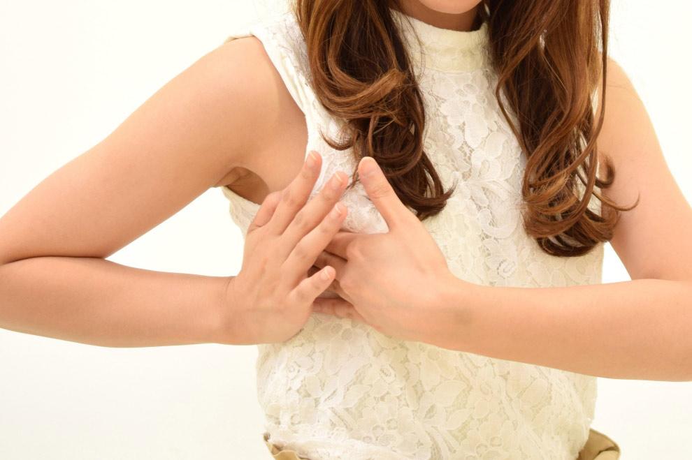 乳がんの「しこり」の硬さ セルフチェック(自己検診)方法