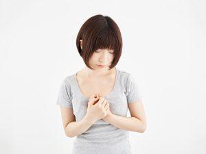 乳がん発覚前の異変 その2:胸が張る