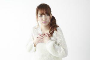 乳房が張る症状