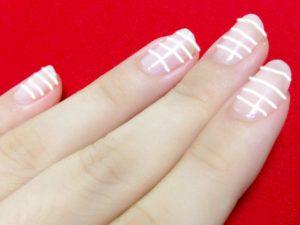 化学療法の副作用:爪の横線