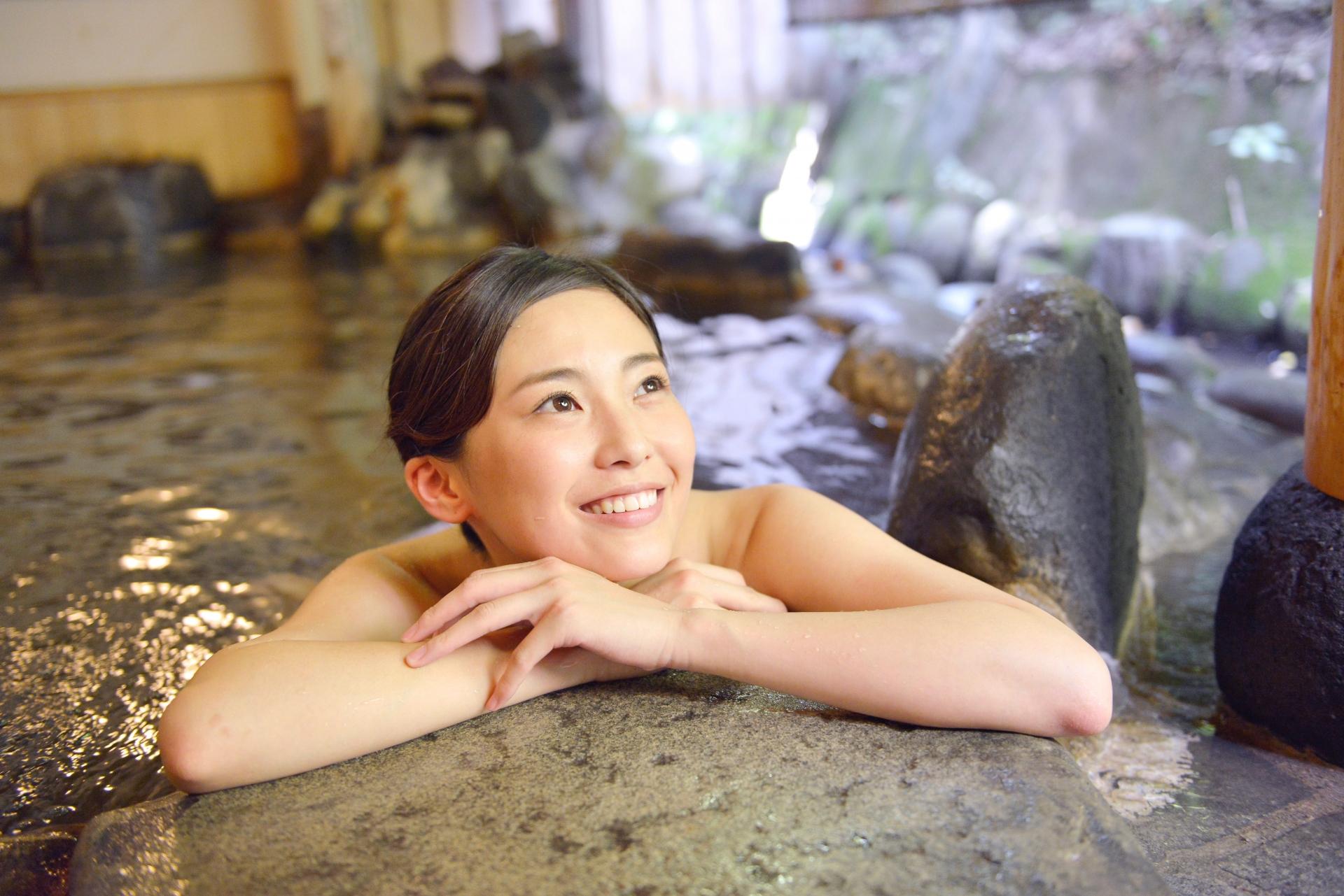 乳がんの手術痕を隠せる入浴着