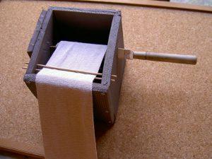 包帯巻き機を自作してみた