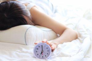 十分な睡眠で免疫力アップ