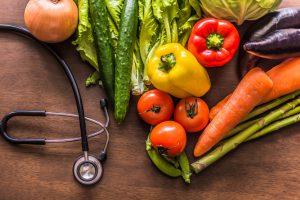 食べ物の色と健康リスクの話