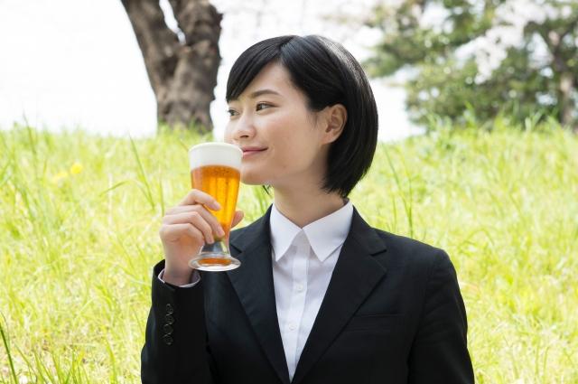 乳がんになった女性の飲酒量